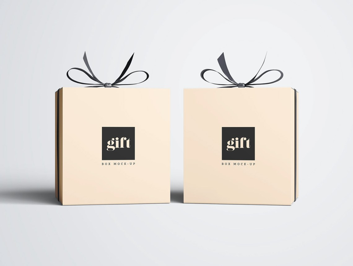 Download Gift Box Mockup on Behance