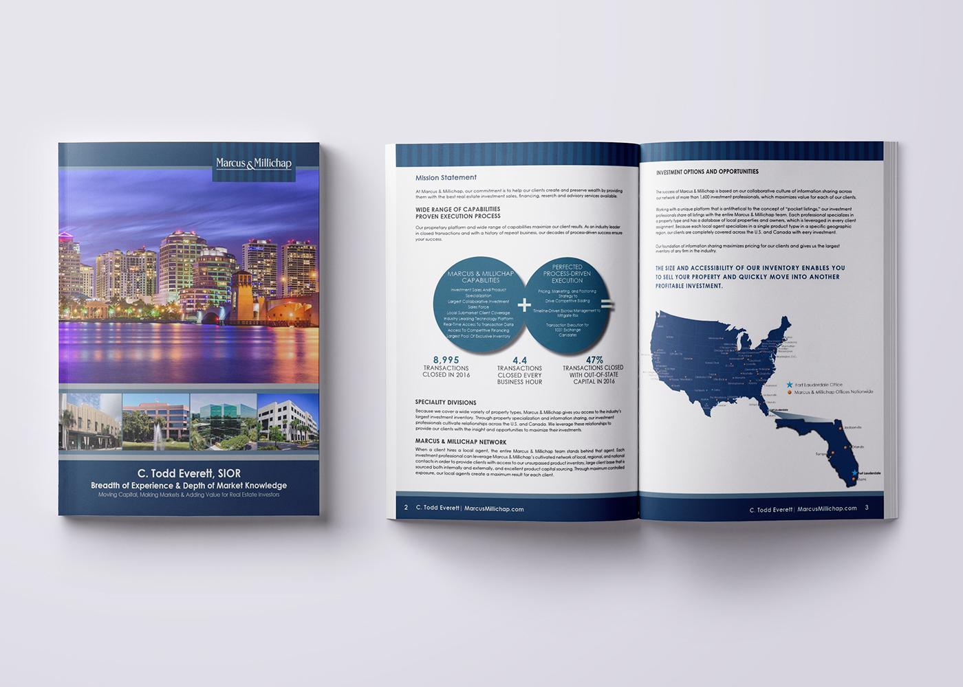 Print Design Marketing Brochures On Behance
