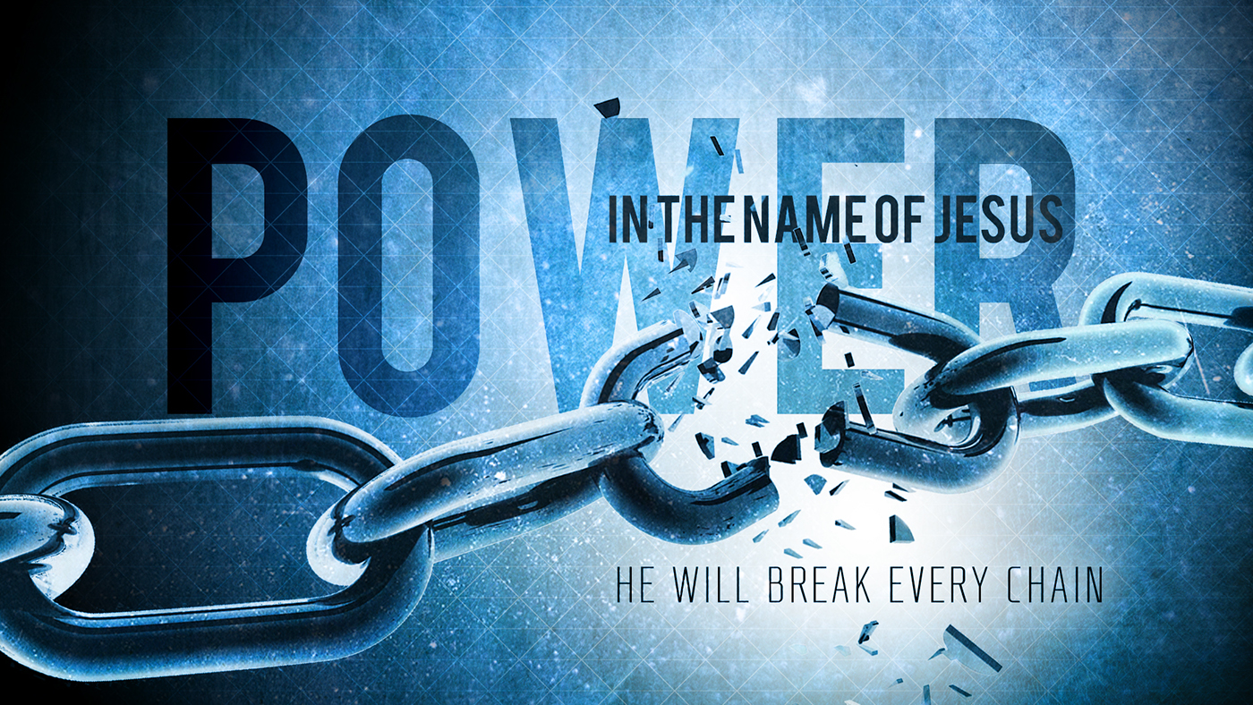 Power In The Name Of Jesus Powerpoint Slide Design On Behance