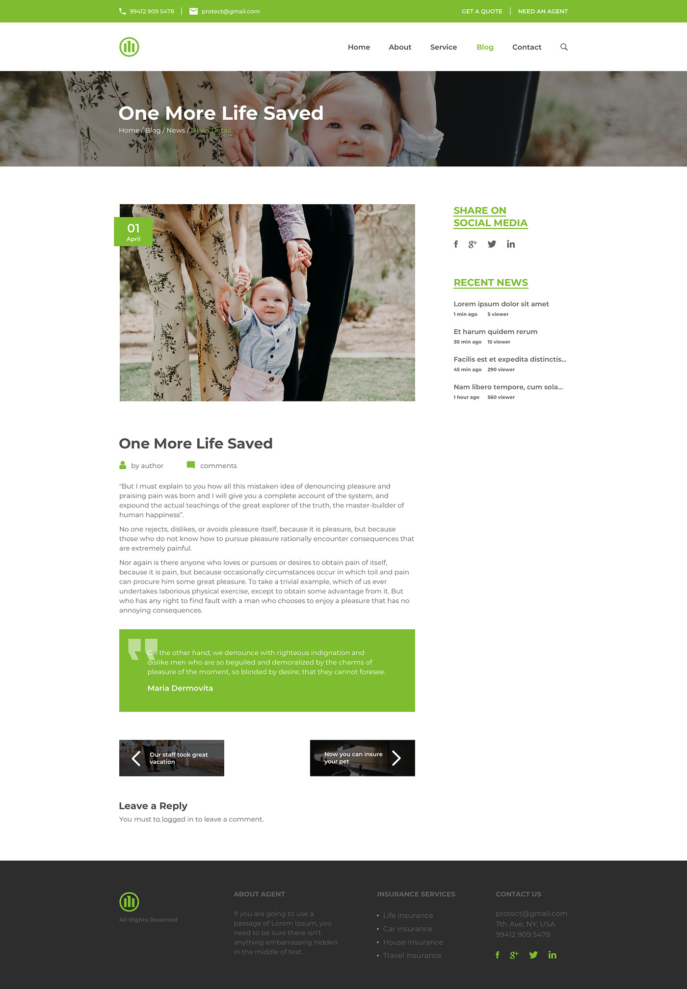 Redesign Website Concept for Allianz Insurance on Behance