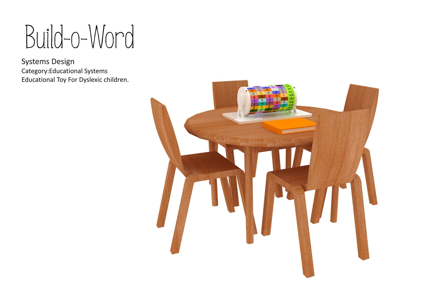 Educational Toy For Dyslexic Kids On Behance