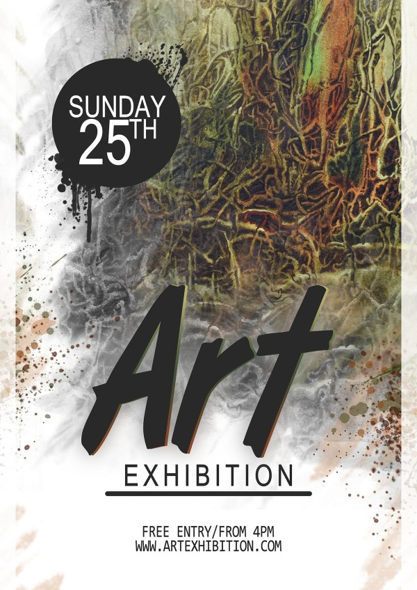 Art Exhibition Poster Design. Behance