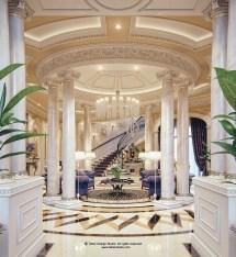 """Luxury Mansion Interior """" Qatar Behance"""