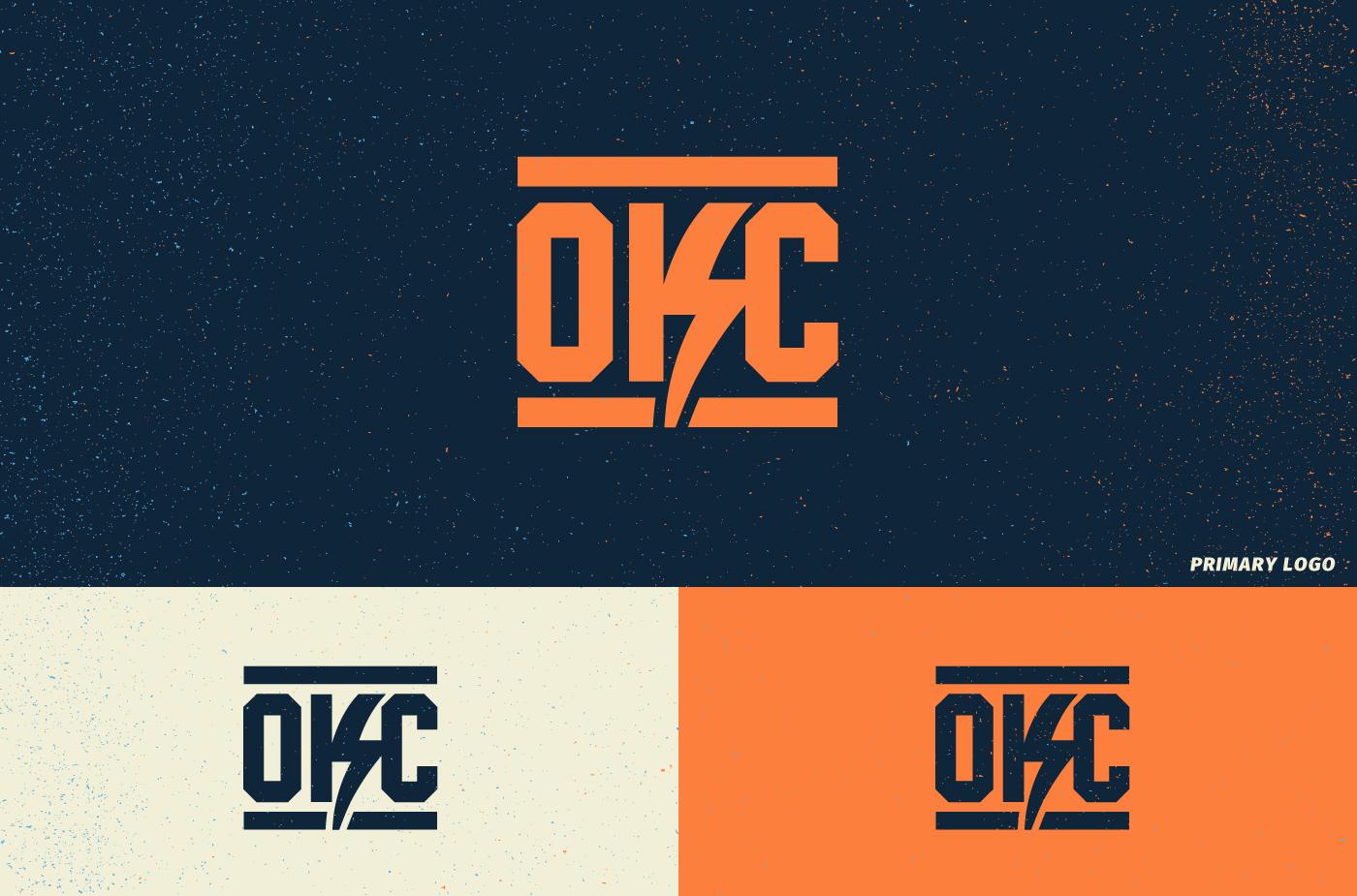 Oklahoma City Thunder Re Brand On Behance