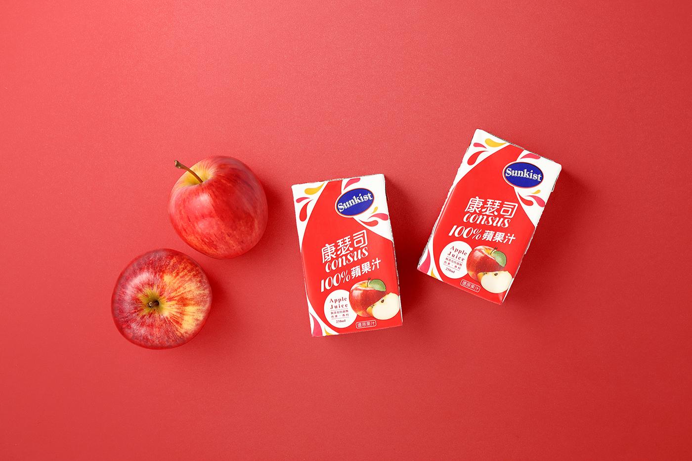 Sunkist Consus 100% fruit juice Packaging Design on Behance