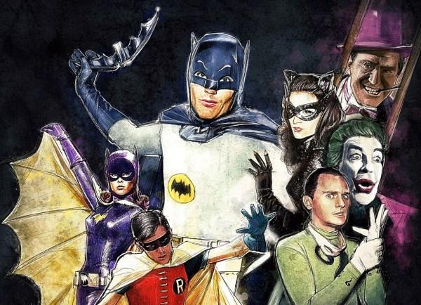 Batman Tv Series Art Behance