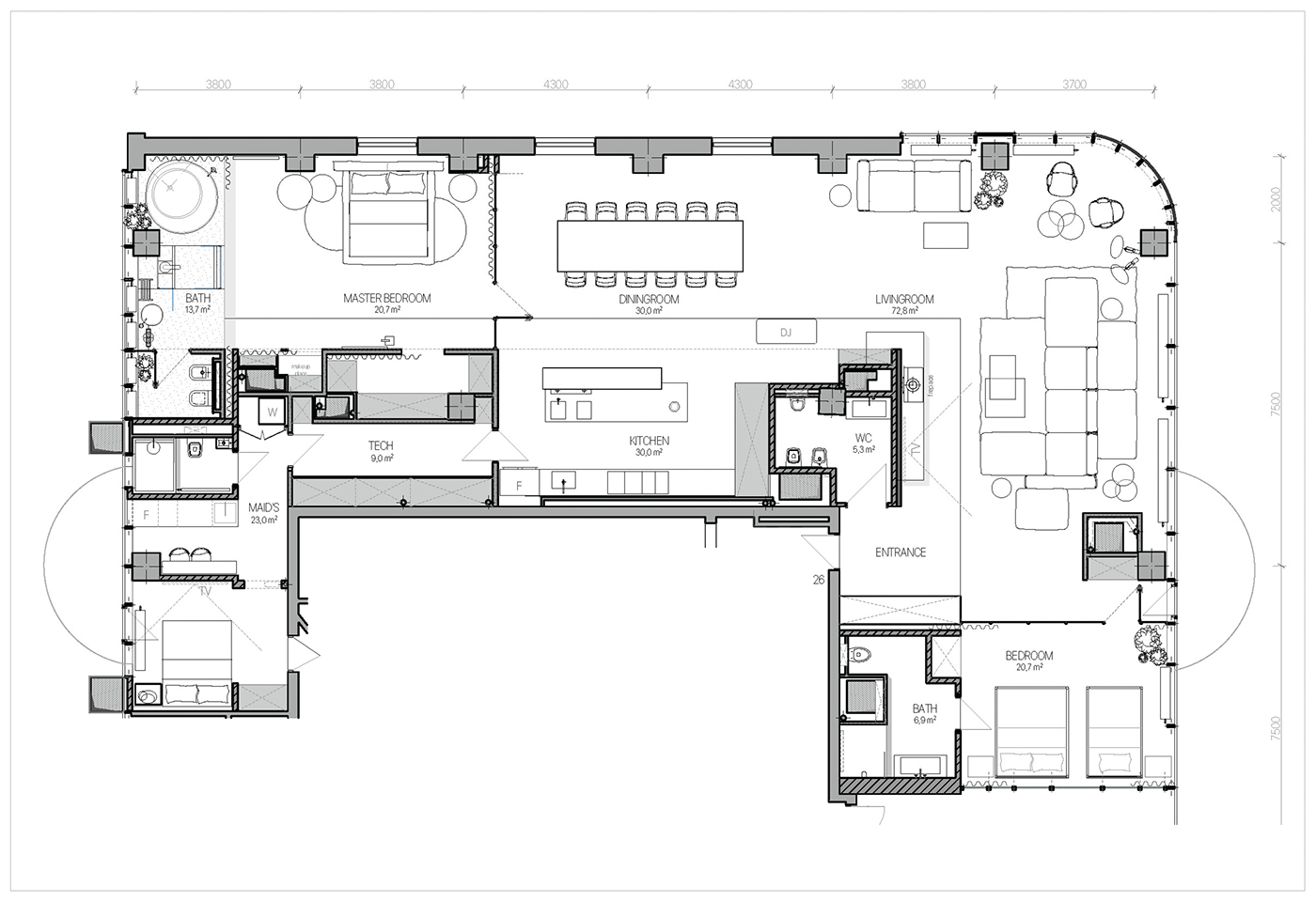 P.26 apartment on Behance