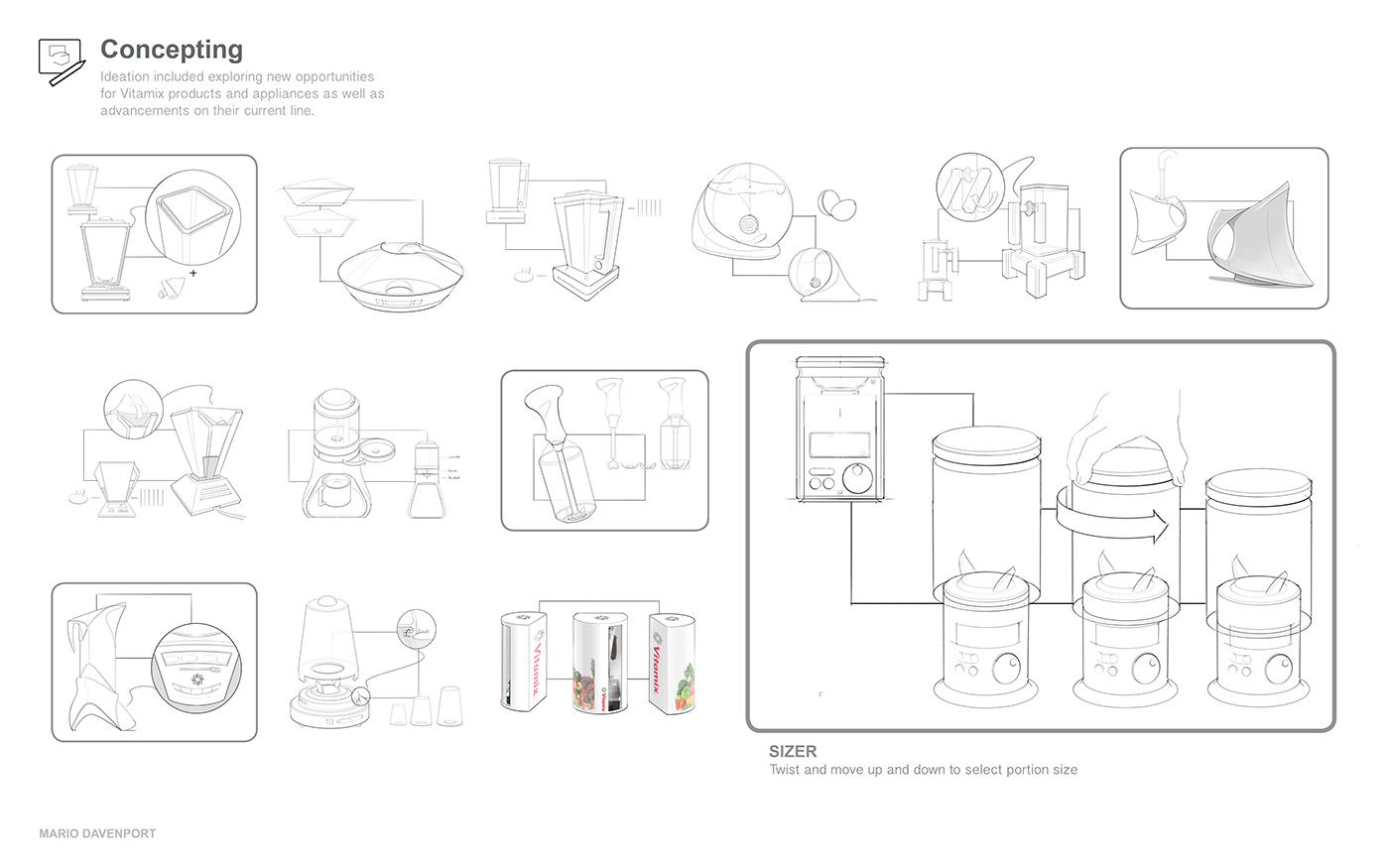 Vitamix E400 Blender on Behance