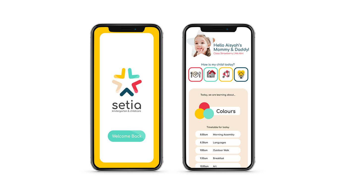 Case Study: Setia Kindergarten on Behance