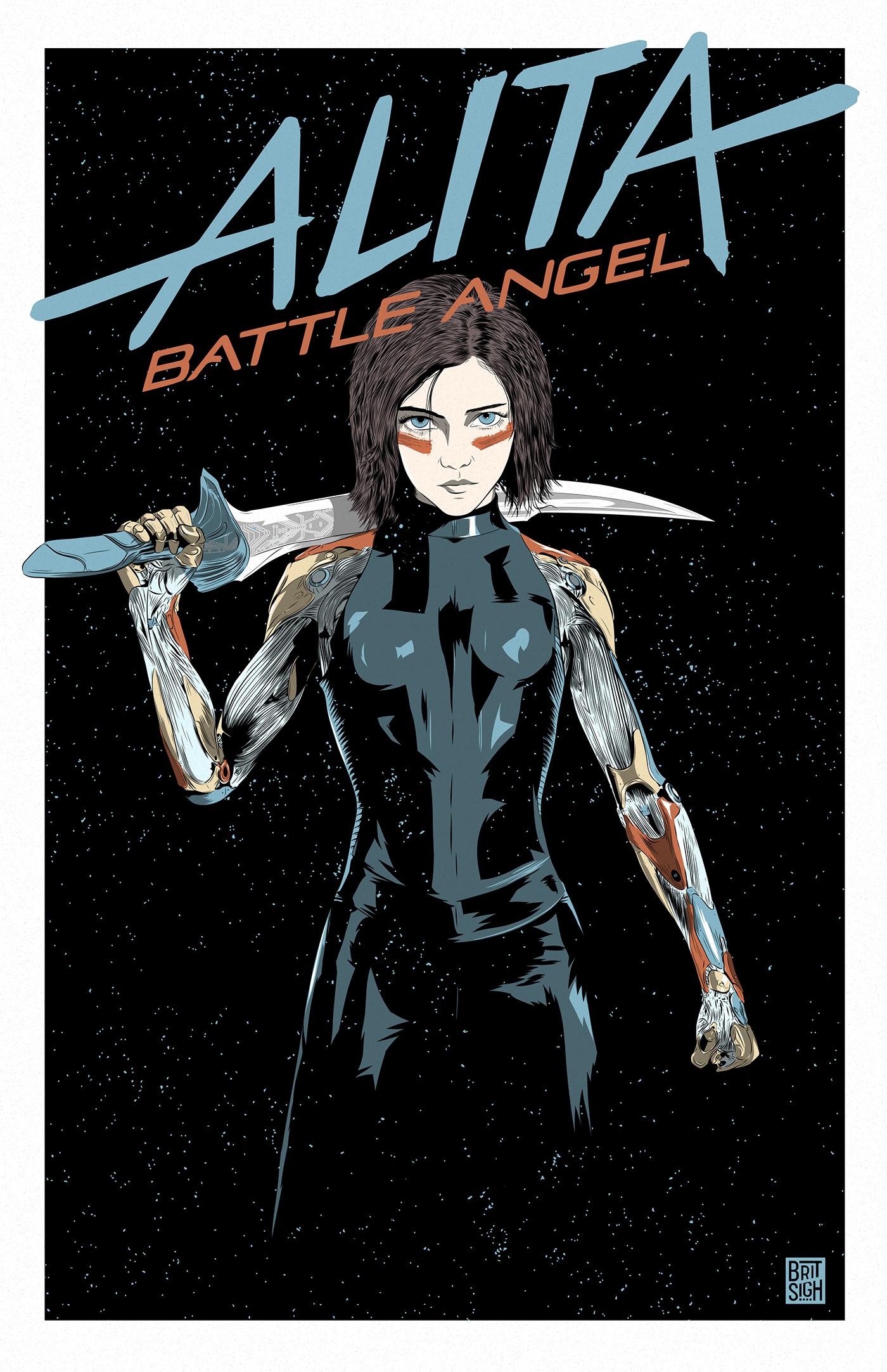 alita battle angel alternative movie