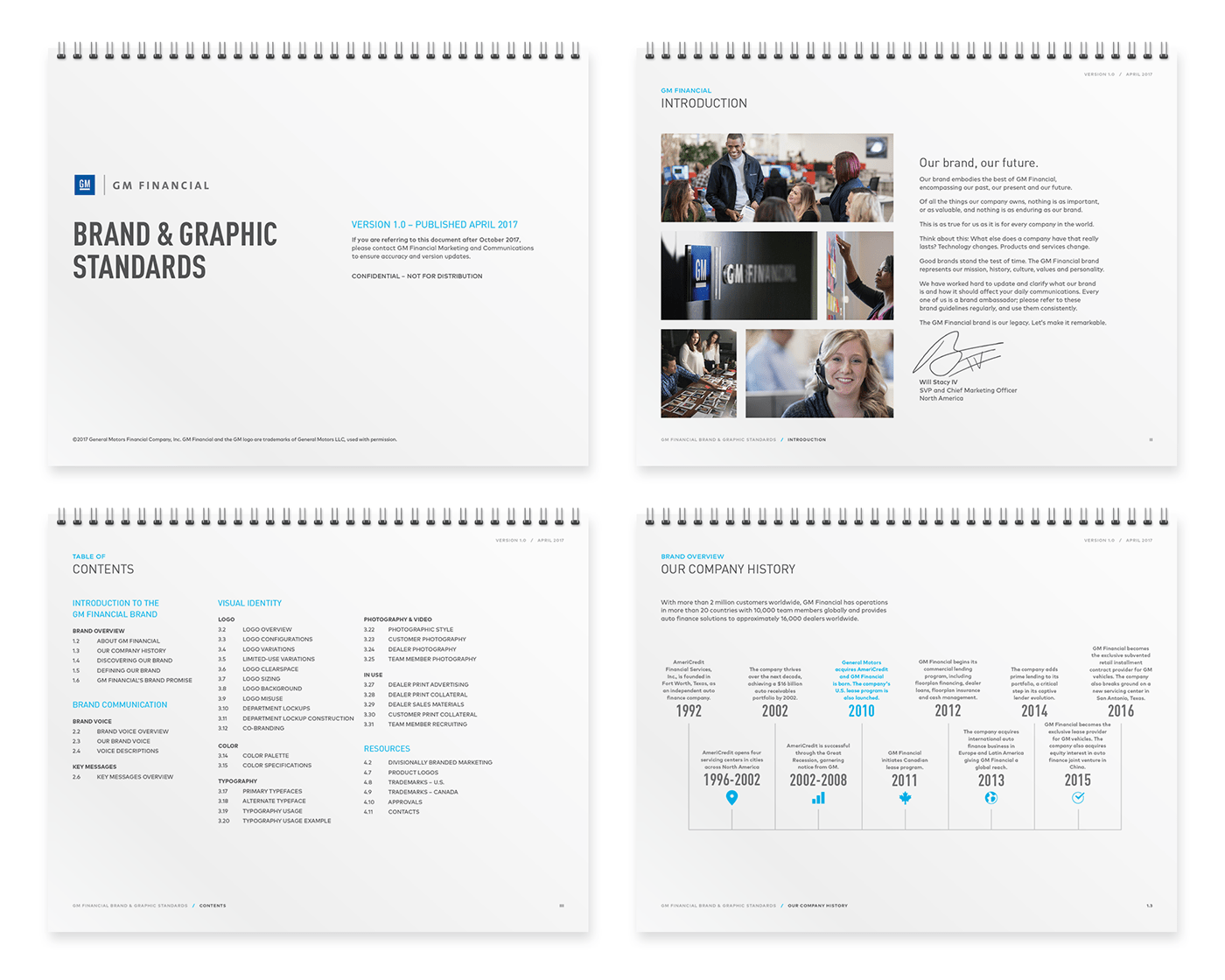 GM Financial Brand Manual + Poster on Behance
