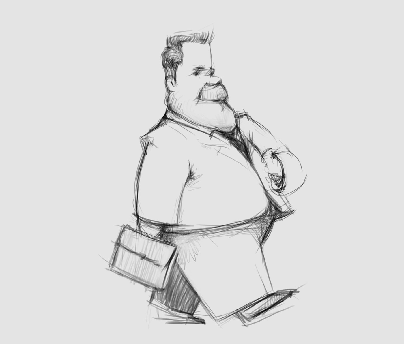 Character sketches 02 on Behance