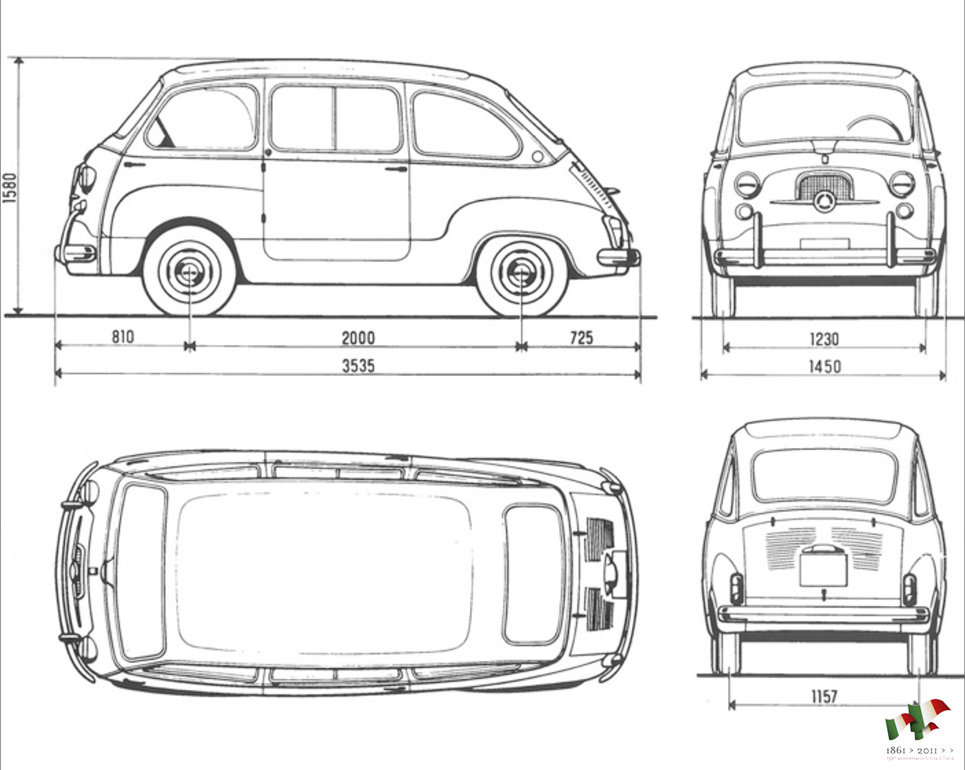 Fiat Multipla ''Vorto'' (Redesign) on Behance