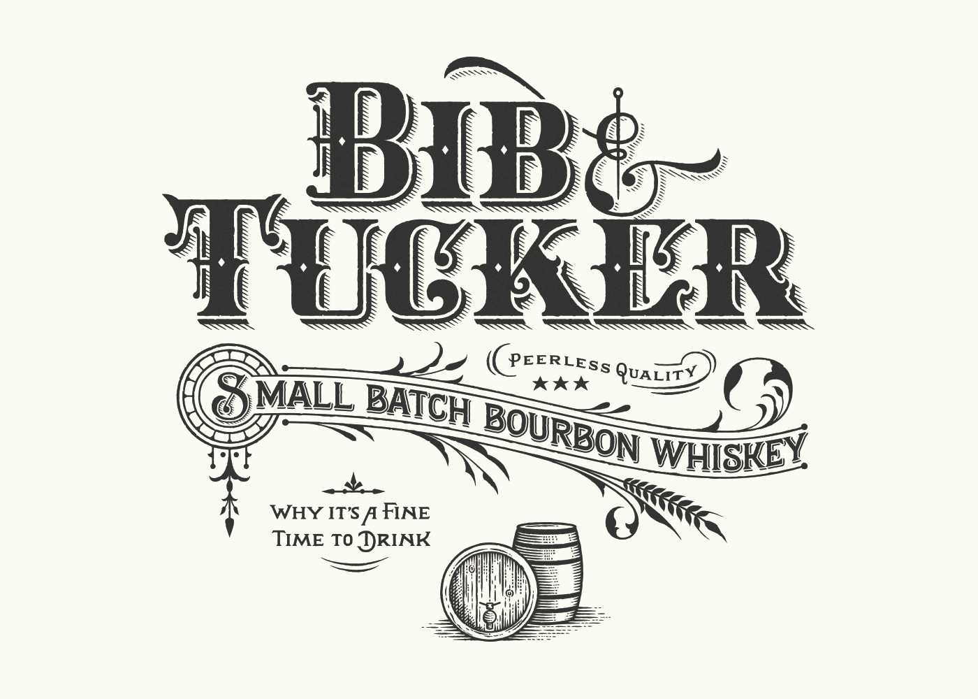BIB & TUCKER BOURBON on Behance