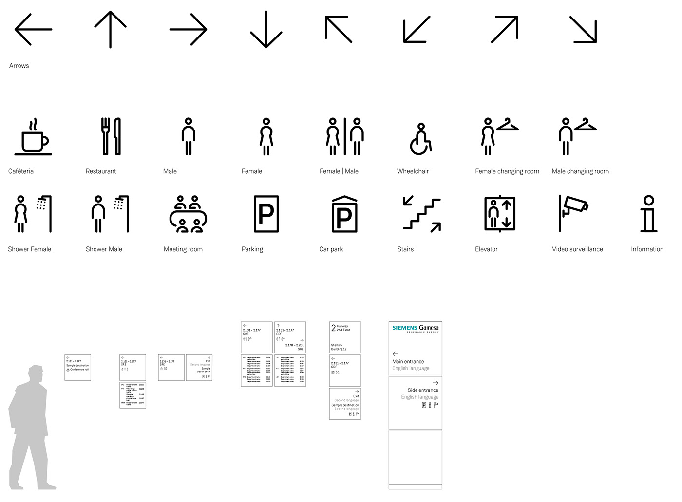 DESIGN FOR PICTOGRAMS, SIGNAGE & ORIENTATION SYSTEMS on