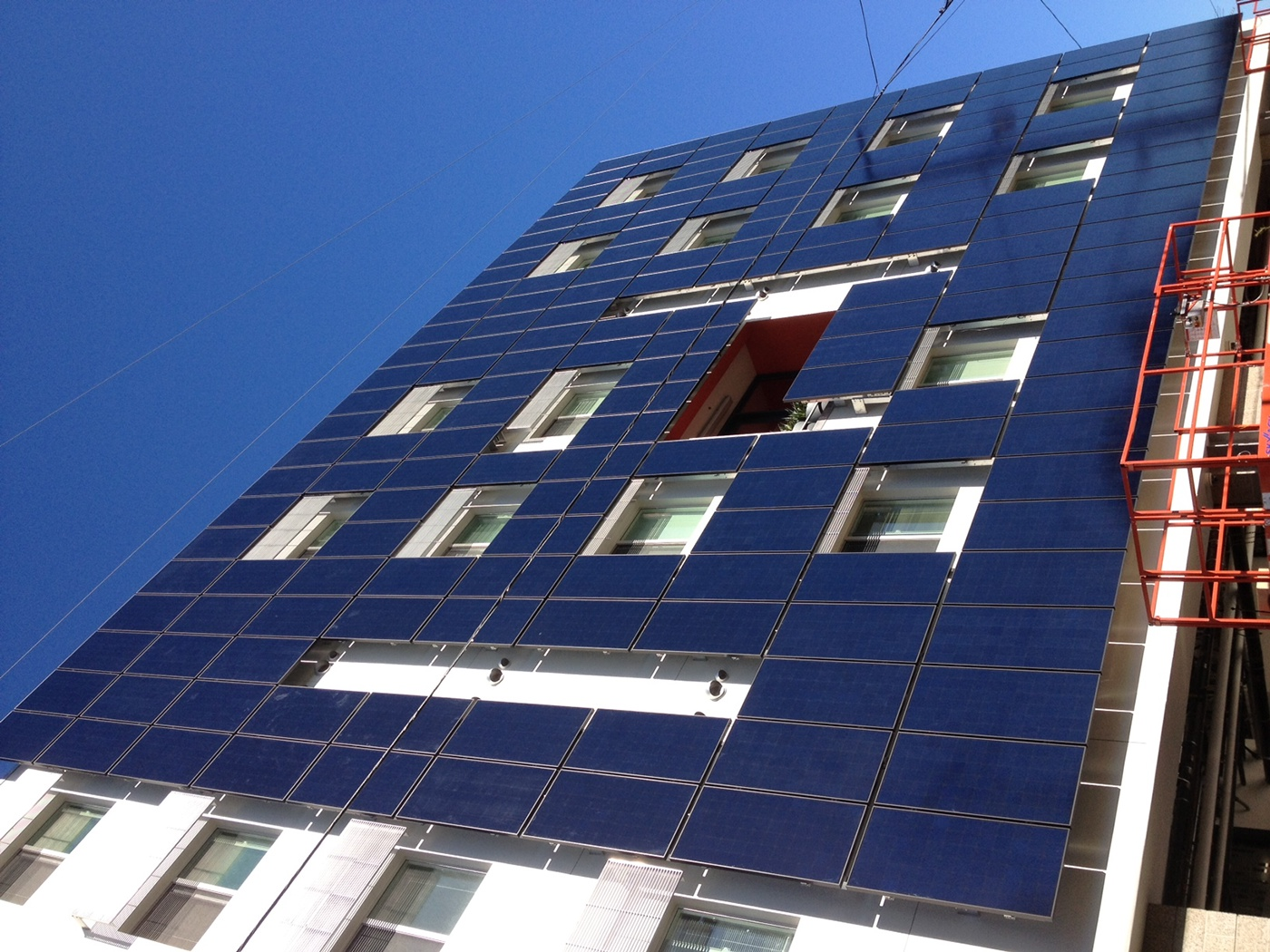 28th Street Apartments BIPV Facade on Behance