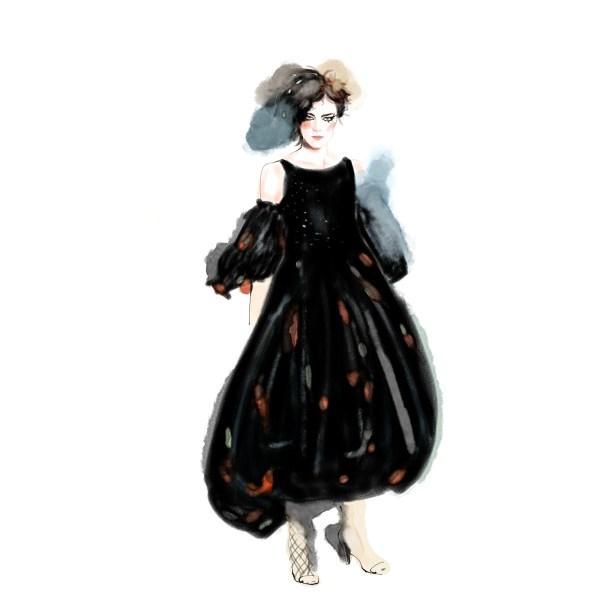 Chanel X .t Fashion Illustration Behance