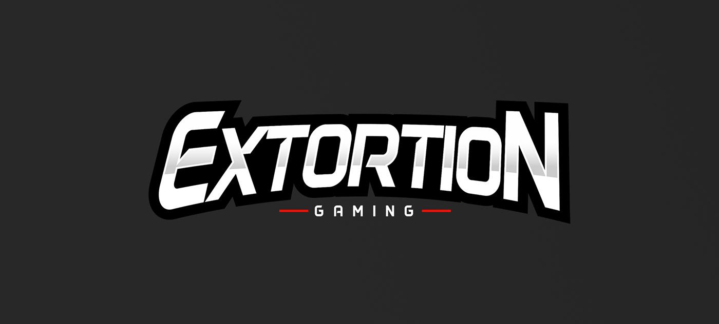 EXTORTION GAMING LOGO on Behance