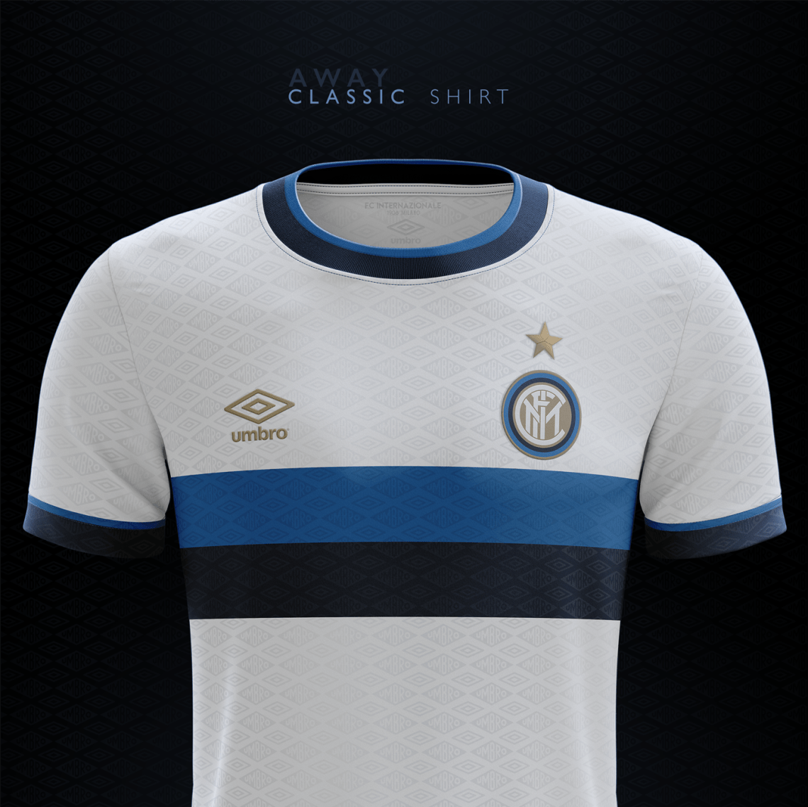 Download Classic Shirts Concept | Umbro | FC Internazionale on Behance