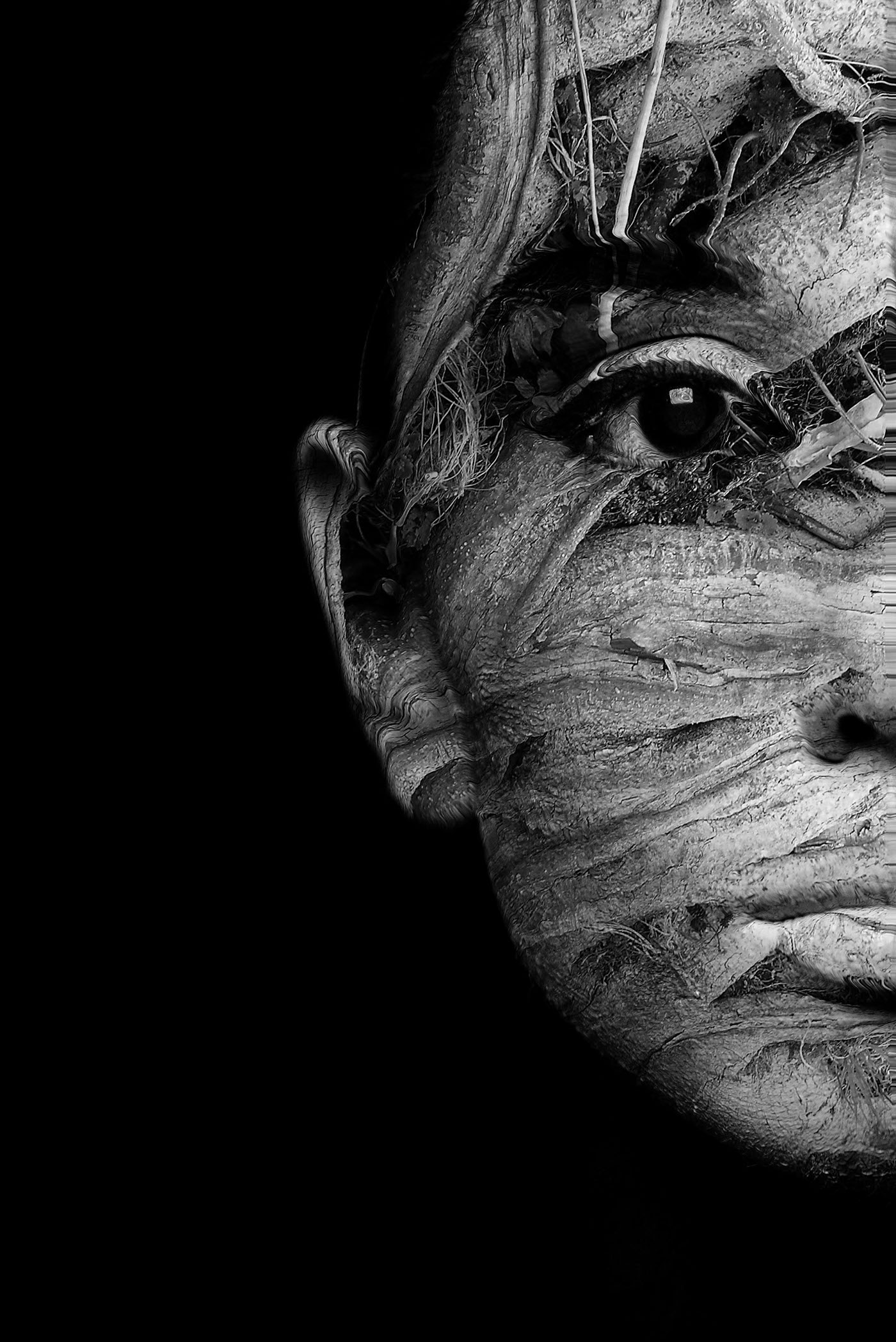 abstract double exposure... on Behance