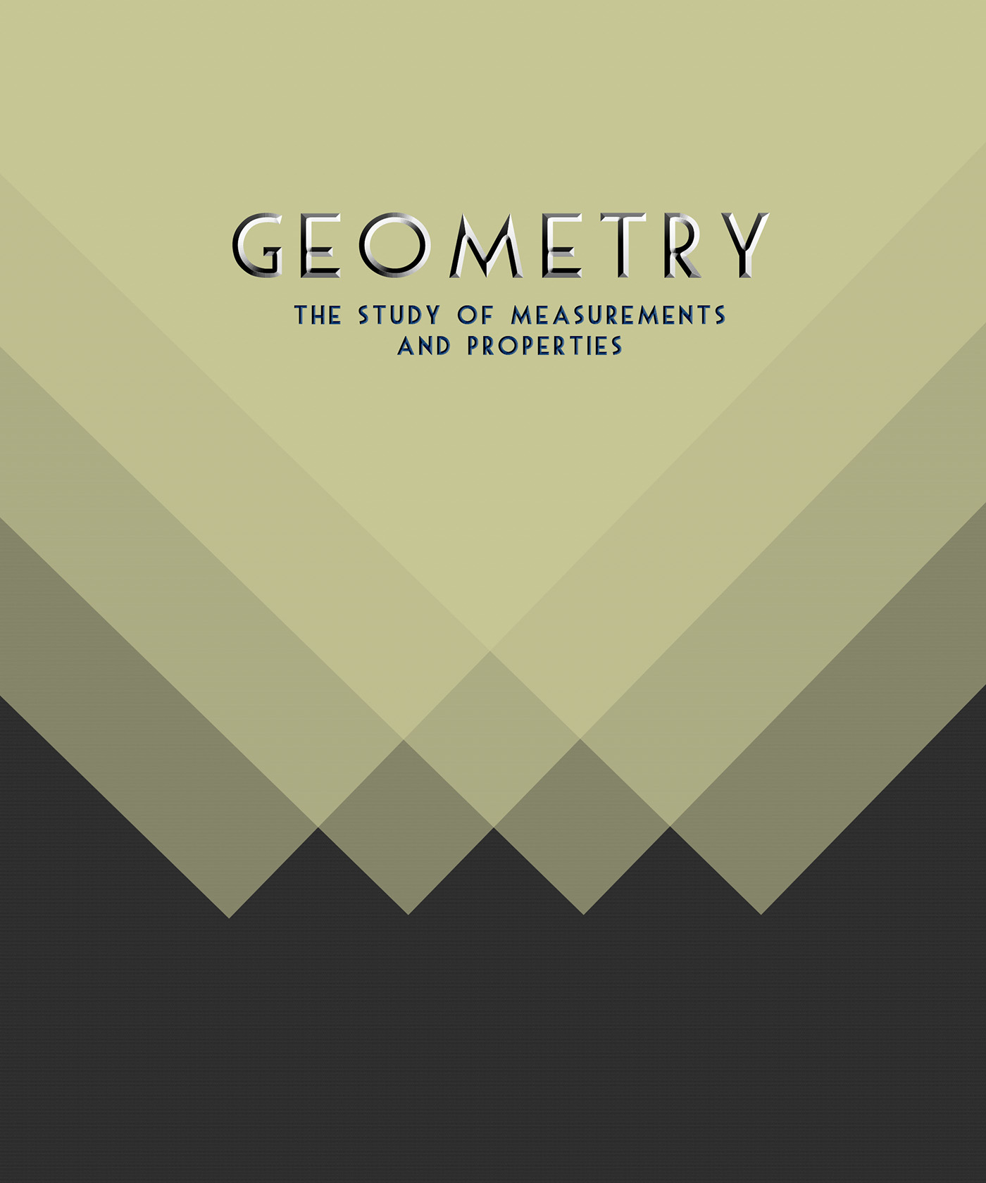 Geometry Book Cover on Behance