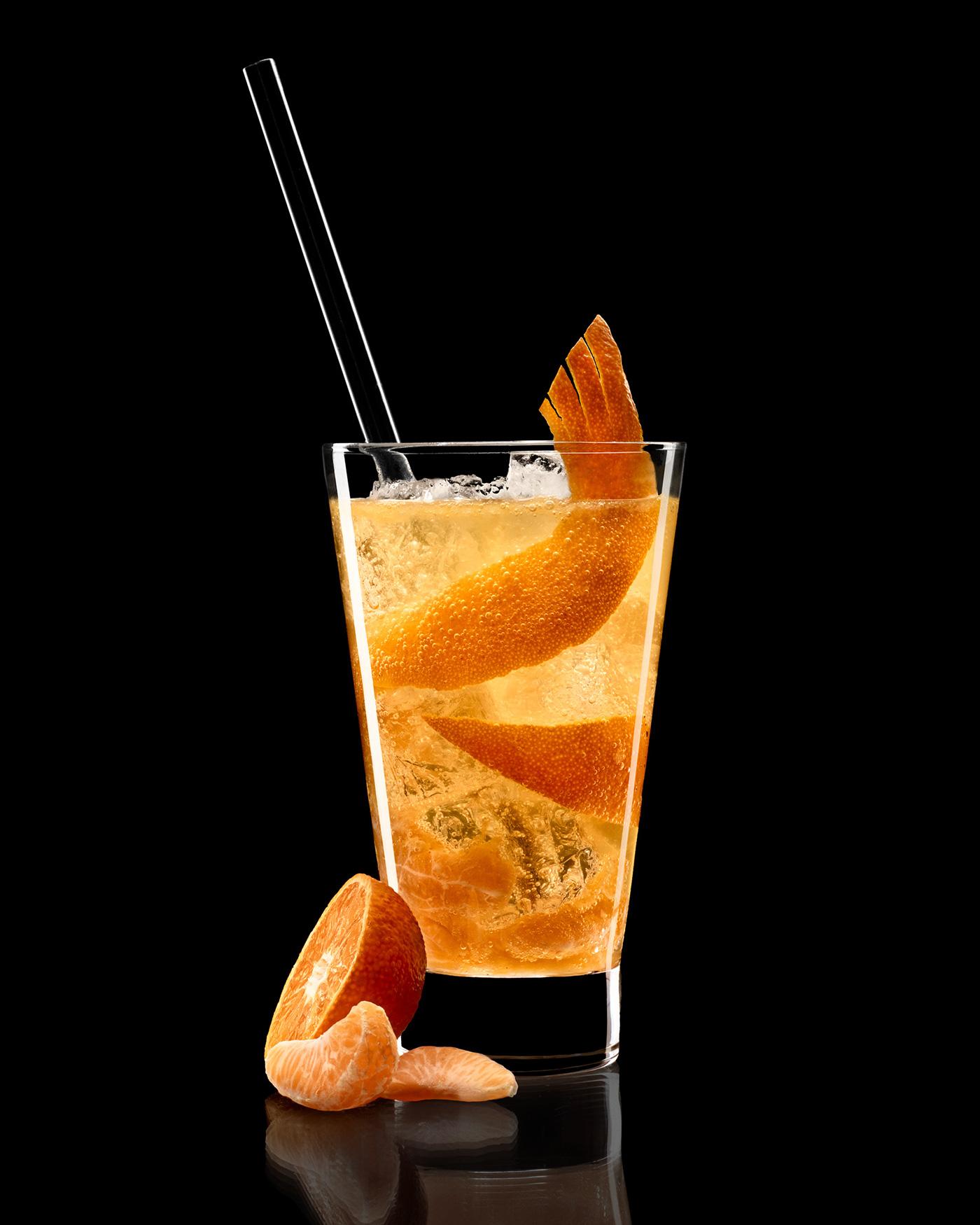 Brandy cocktails on Behance