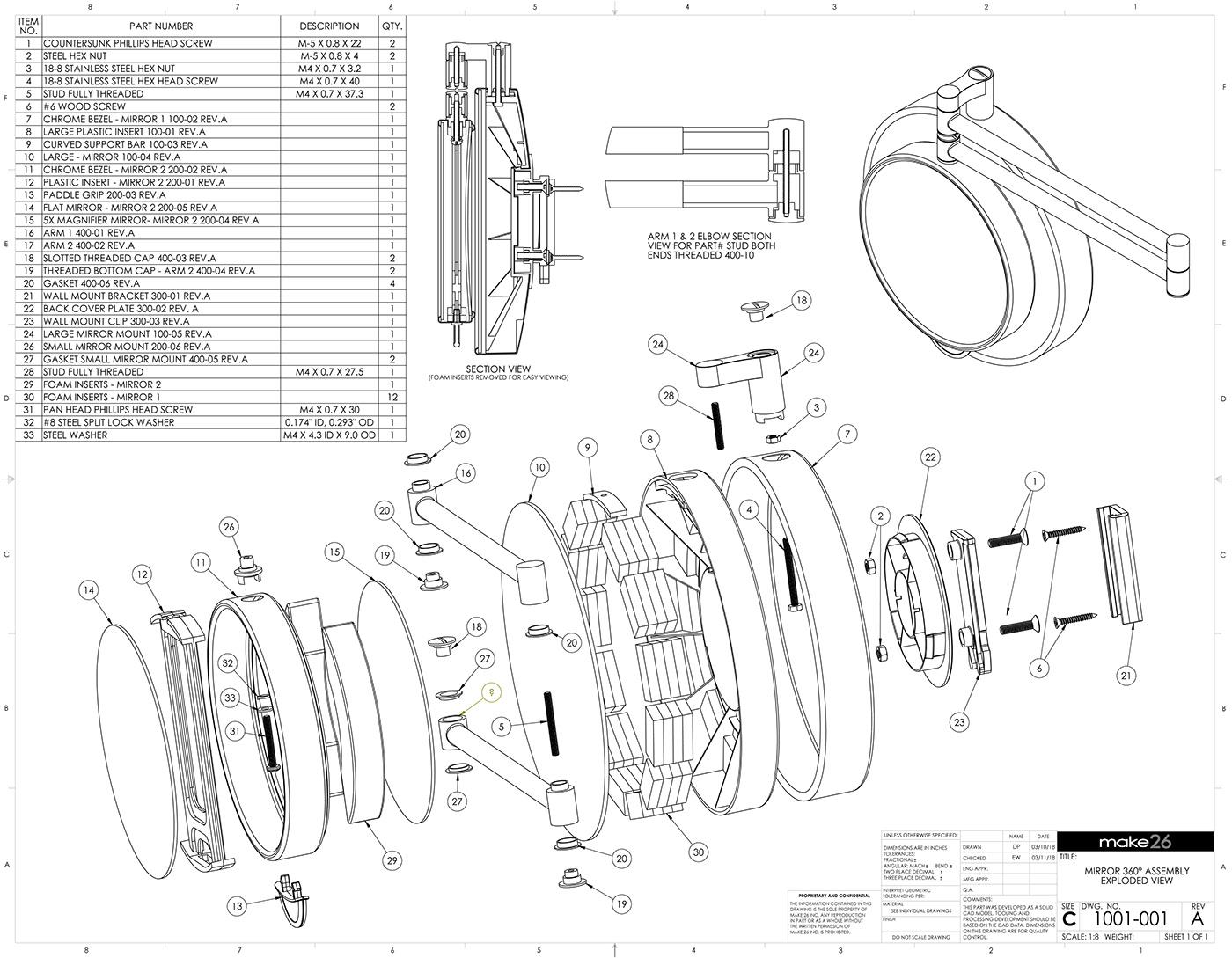 Blueprints in SolidWorks on Behance