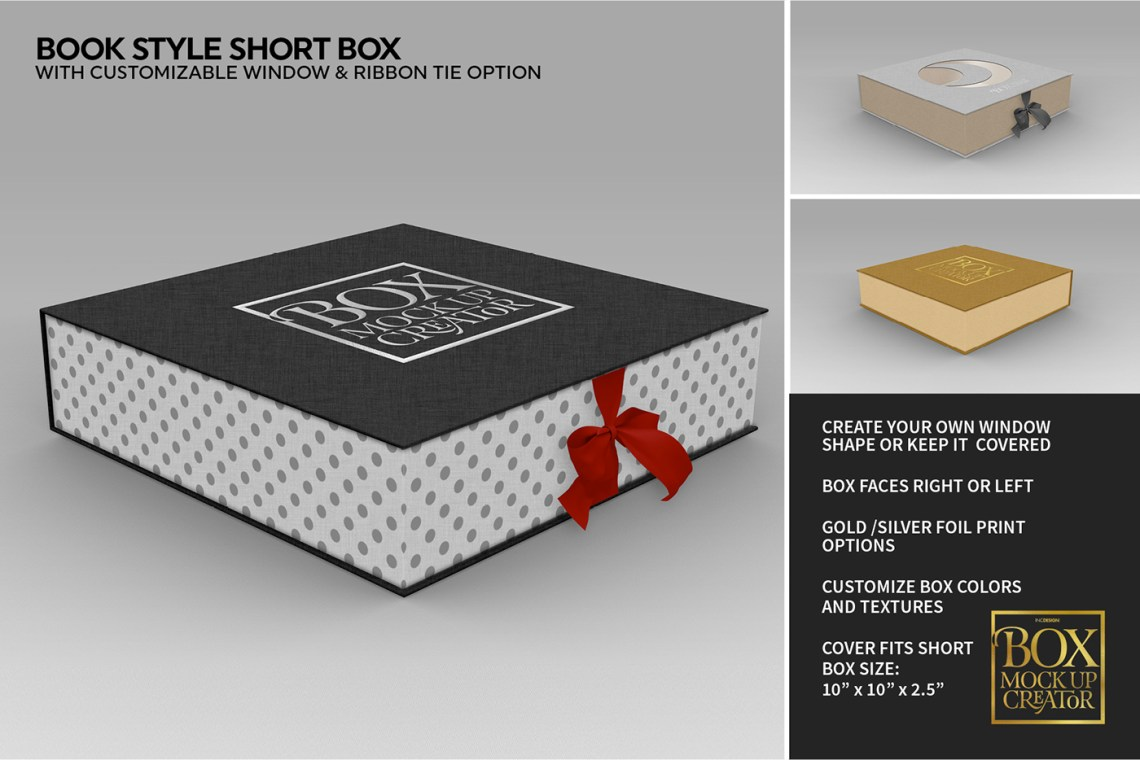 Download Square Box MockUp Creator with FREE Lite Version on Behance