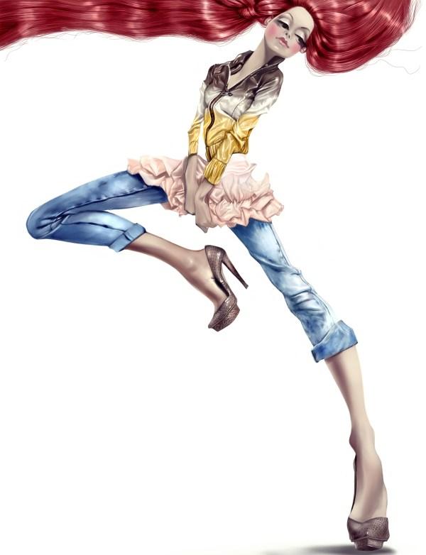 Fashion Illustration. Archives Behance