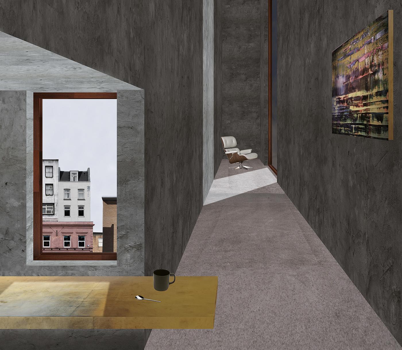 The Corridor Apartment on Behance