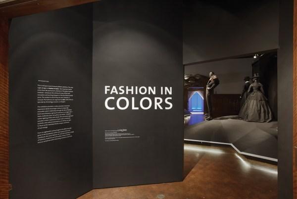 Cooper-hewitt. Fashion In Colors. Exhibit Design Behance