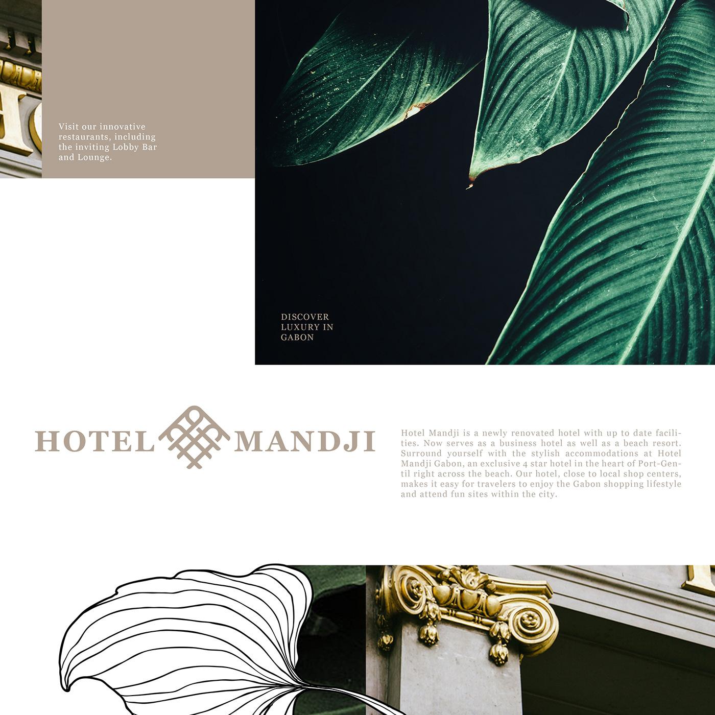 Branding project : Hotel Gabon. on Behance