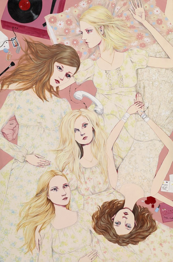 Drawings the Virgin Suicides