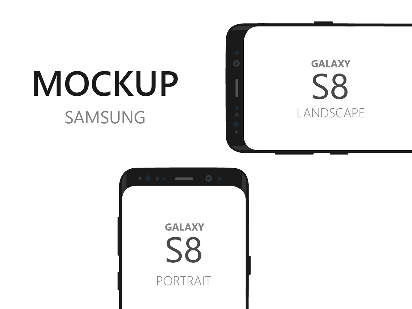 Samsung Galaxy S8 Device Mockup on Behance