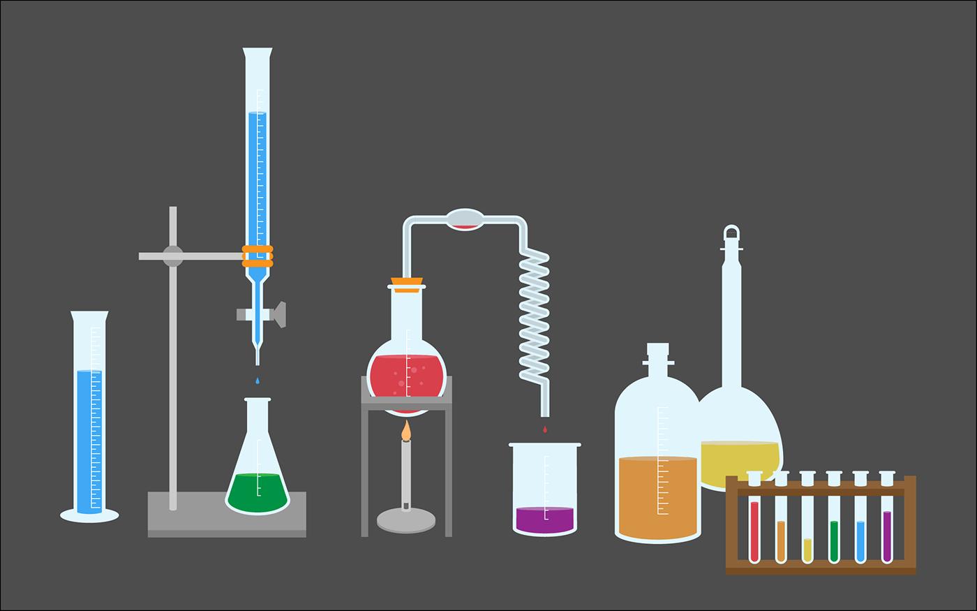 Chemistry Set - Illustration on Behance