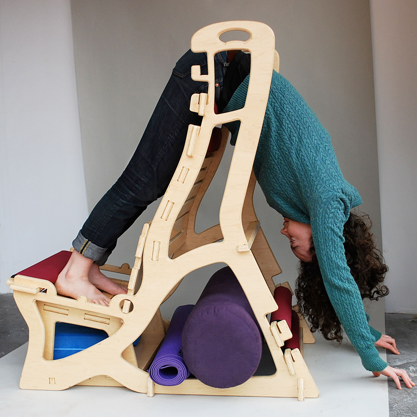 hanging upside down chair for back covers nottingham antigravity flat pack yoga on behance