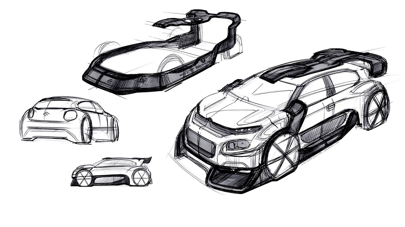 Citroen C3 WRC Concept 2017 on Behance