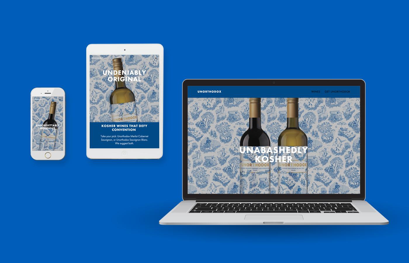 Unorthodox Wines on Behance