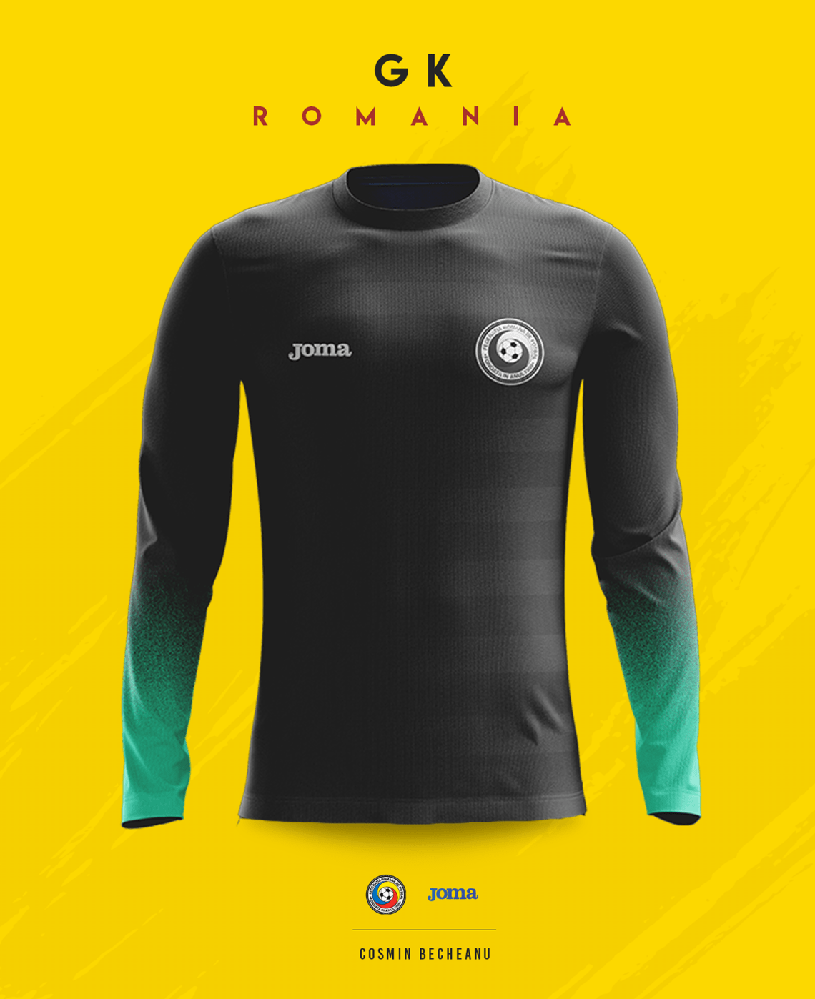 Download Romania - JOMA® 2018 Concept on Behance