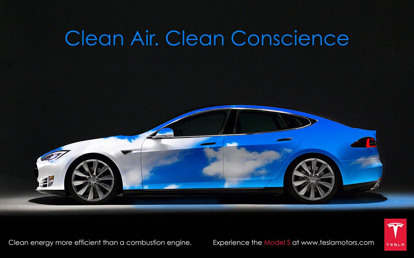 Tesla Ad Campaign On Behance