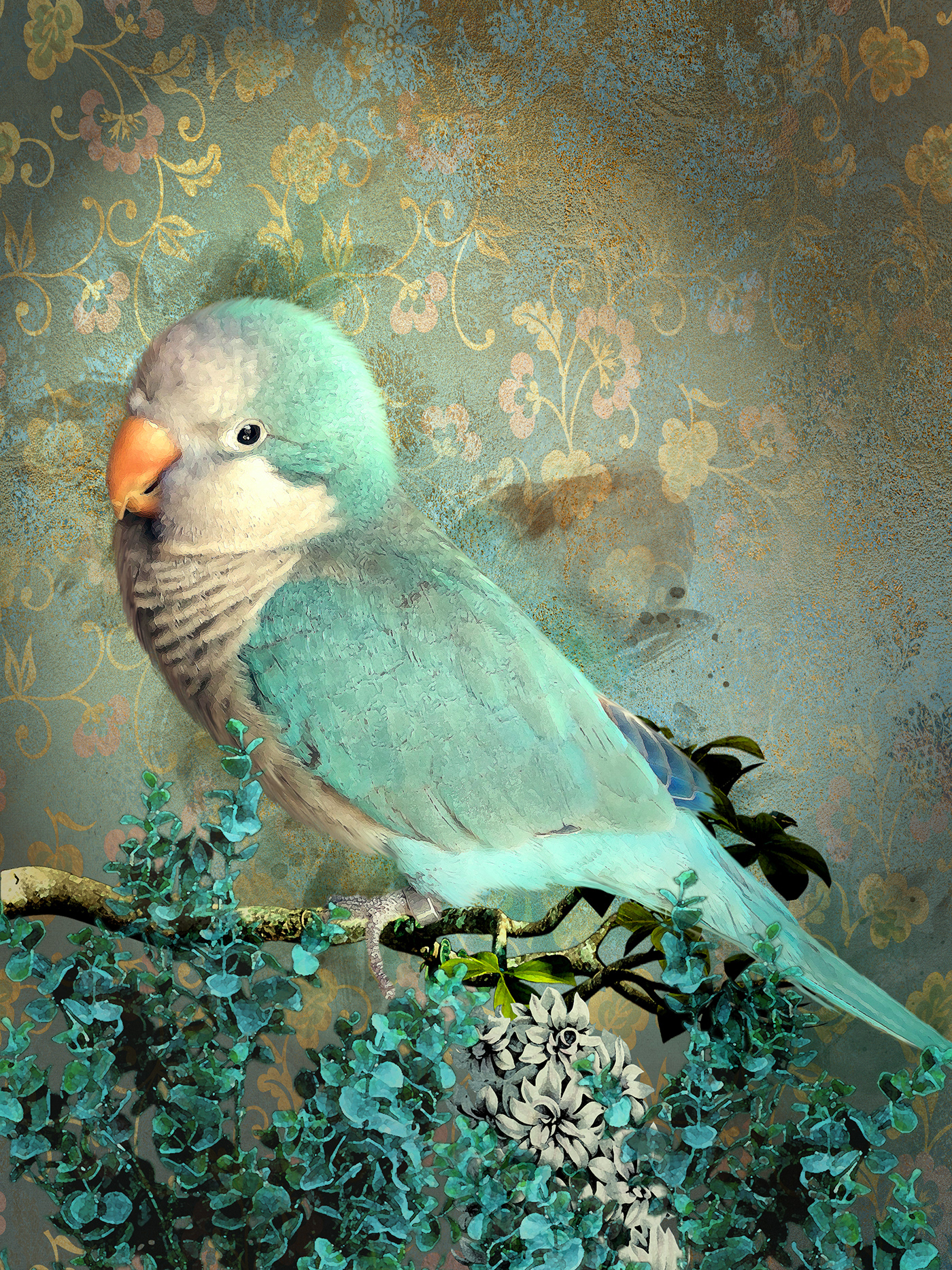 some parrotlets and one