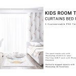 Kids Room Textile Curtain Bed Set Pillows Rug Set On Behance