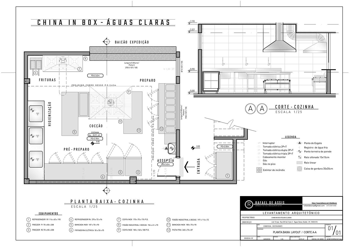 desenho técnico em CAD (drafting) on Behance
