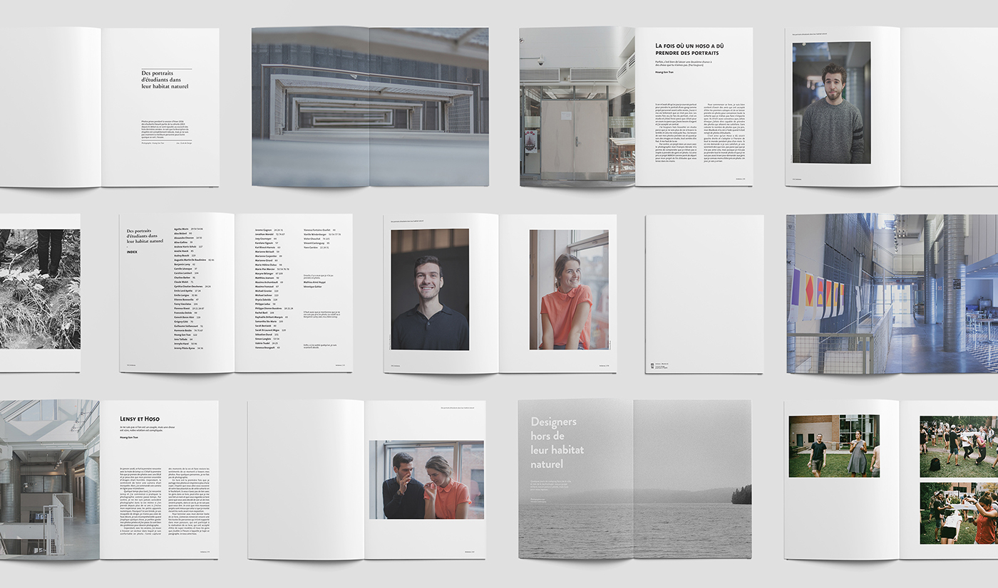instance. | Identity, Website and «Yearbook» on Behance