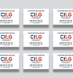 client cilg construction work visual identity graphic design website design development [ 1400 x 1046 Pixel ]