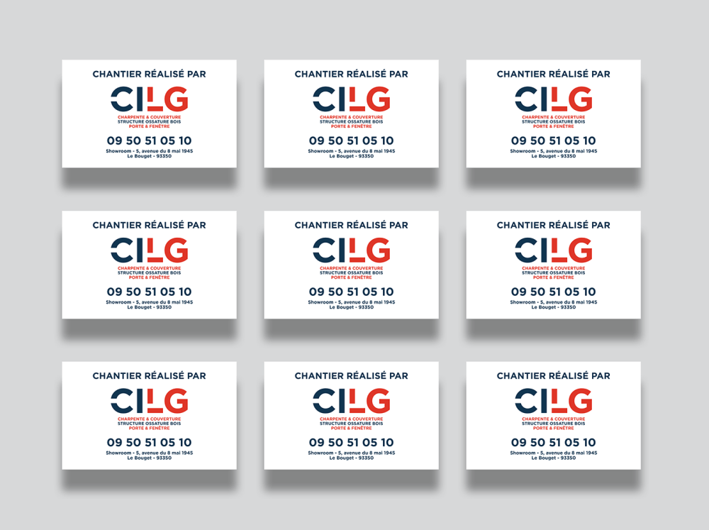 medium resolution of client cilg construction work visual identity graphic design website design development