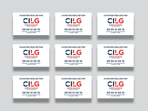 small resolution of client cilg construction work visual identity graphic design website design development