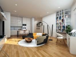 Little Flat Interior on Behance