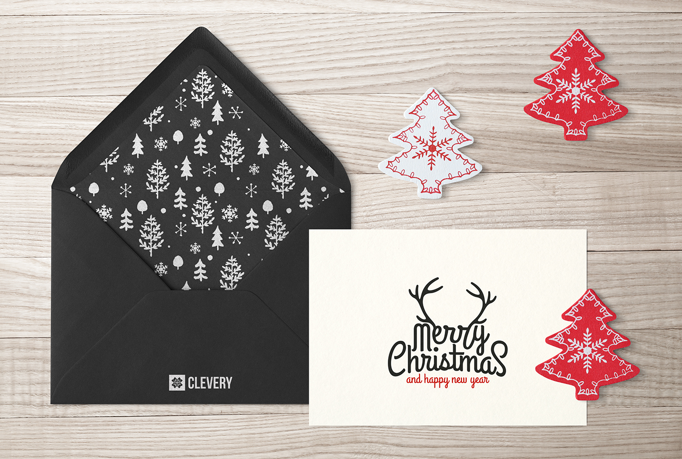 Photorealistic Invitation Amp Greeting Card Mock Up On Behance