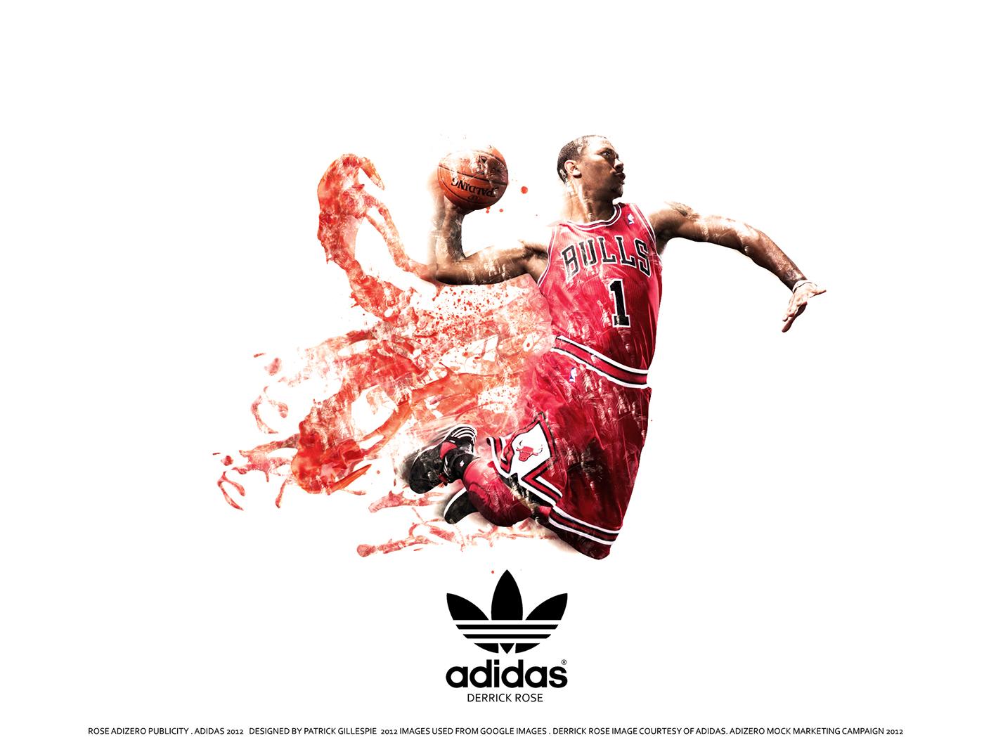 Carmelo Anthony Wallpaper Hd Derrick Rose Adizero Marketing On Behance